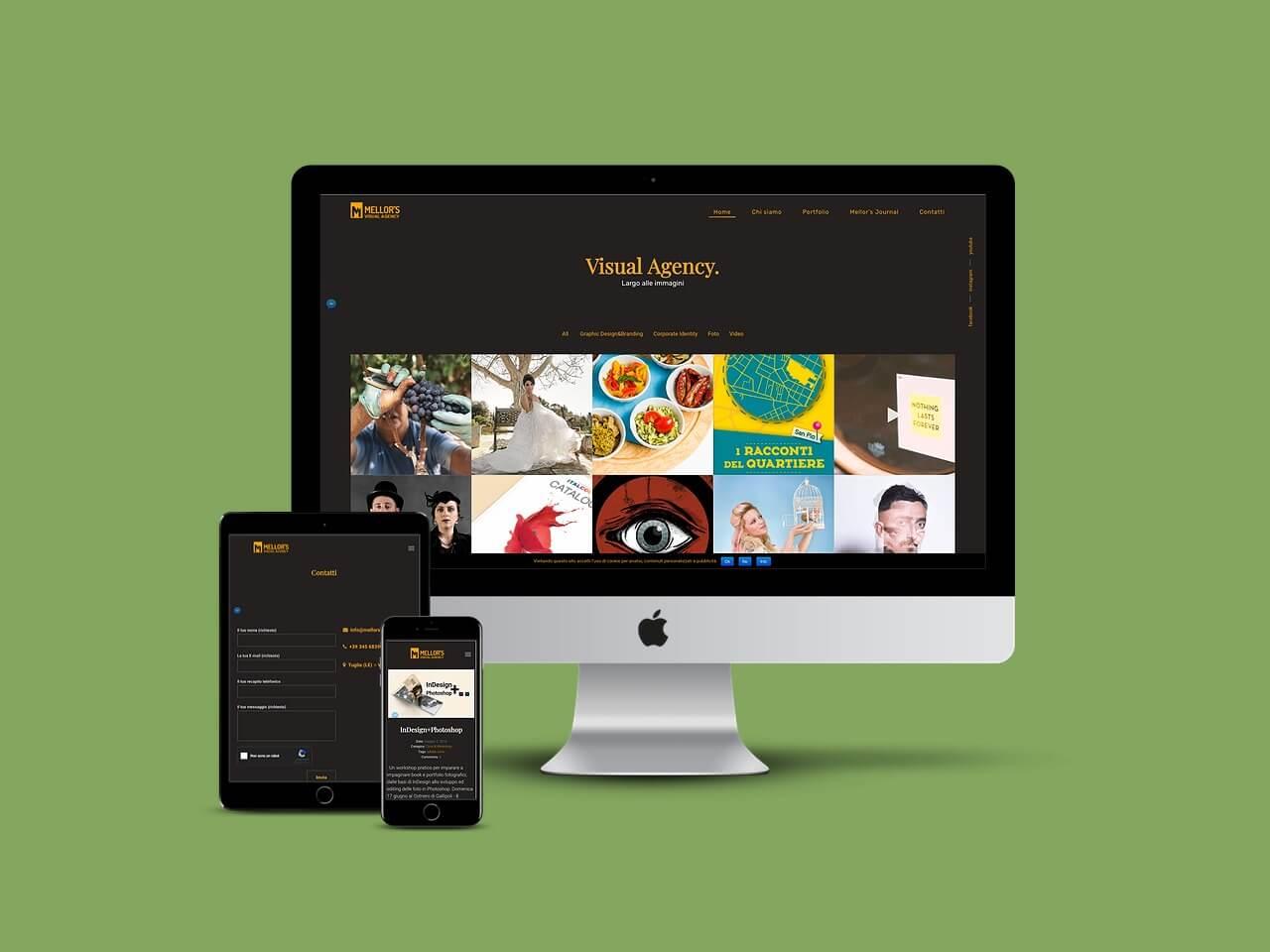 mellors visual agency portale servizi